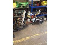 Welsh pit bike for sale 125cc