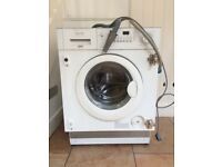 FREE Zanussi integrated washer dryer