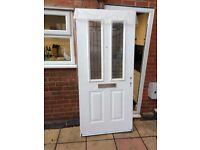 Brand New White PVC front Door