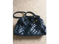 Black/Navy Handbag