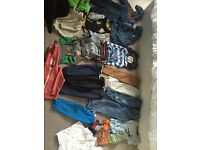 Big bundle of baby boy clothes 12-24 months Must go ASAP!!!