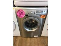 ZANUSSI 7KG DIGITAL SCREEN WASHING MACHINE SHINY SILIVER
