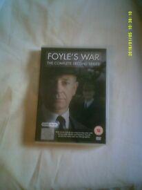 DVD - FOYLE'S WAR 2ND SERIES - 4 DISC SET - EXCELLENT !!