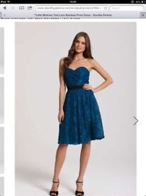 5xBrand new dresses in teal colour, various sizes