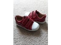 Startrite Boys Soft Leathers Red Shoes in size 8G