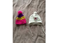 Girl winter hats for 1,2-2 years old