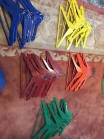 40 kids hangers