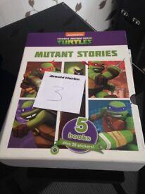 Kids ninja turtle books