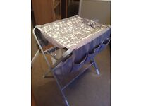 Foling baby change station, ideal for any room, great condition