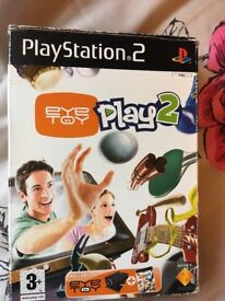 FREE Eyetoy camera PS2
