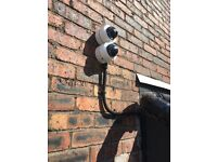 Electronic security system installation and Maintenance