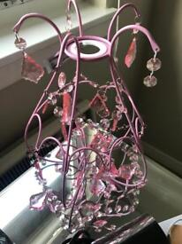 Sweet pink lampshade - never used