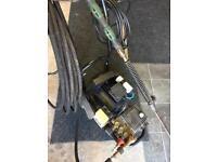 Industrial pressure washer 240v twin jet Lance jet washer jetwash
