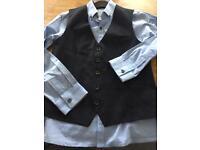 Next Boys Shirt & waistcoat