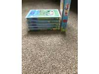 Peppa pig and waybuloo DVD collection