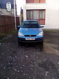 Ford Focus Diesel . Reliable, economical and MOT till next sept. Clean, tho a few. Scratches.
