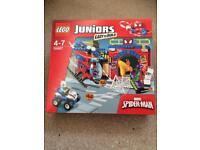 LEGO 10687 Juniors Spider-Man Hideout Rare Retired Green Goblin Spiderman Set BRAND NEW