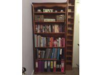 Lovely pine bookcase