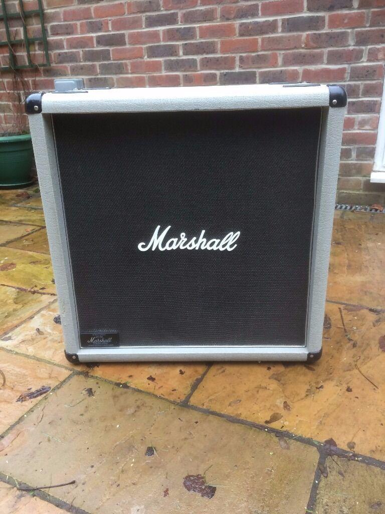 2x12 Speaker Cabinet Marshall Silver Jubilee 2556b 2x12 Speaker Cabinet Original 1987
