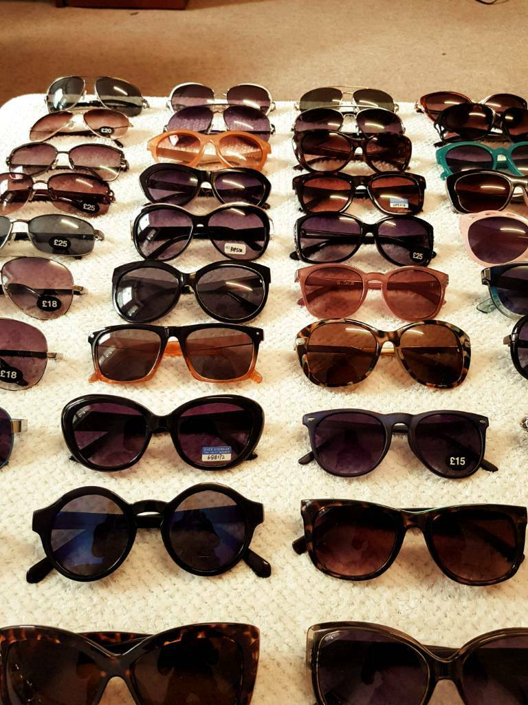 2e112d745fe Wholesale Sunglasses Joblot Shades Bulk Ladies Unisex x 60 pairs (Brand New)