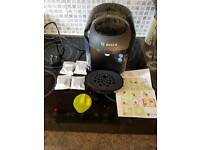 Bosch tassimo machine with extras