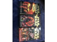 3 Star Wars books