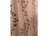 Pair of curtains with tie backs