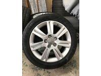 """Audi 17"""" alloy wheels"""