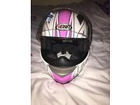 Female bike helmet