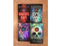 4 x Anthony Horowitz books for older teenage readers.