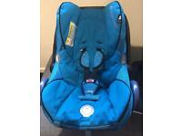 Maxi cosi car seat dark blue
