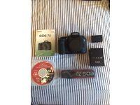 Canon EOS 7D 18.0MP Digital SLR Camera, 51k shutter count, Excellent condition