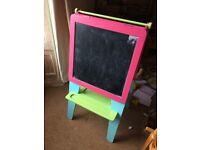 Pink Easel / Whiteboard / Blackboard from Early Learning Centre