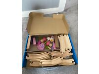 Childs Fairy Tale Wooden Tray Set