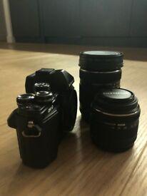 Olympus Camera - OM-D E-M10 Mark II + 14-42mm & 40-150mm!!! Perfect condition (Black)