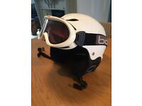 Kids Bolle Ski Goggles and Helmet
