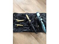 2x Curling Iron, Philips and Nicky Clarke