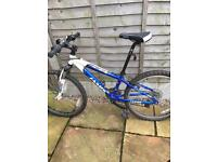 "Kid's aluminium 14 speed mountain bike 24"" frame"