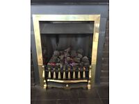 Gas Fire Coal effect Kinder Fire Oasis KF100