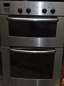 Bosh stainless steel build in electric double oven