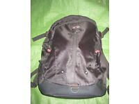 Black Fabric Targus Backpack