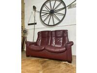 RECLINER EKORNESS STRESSLESS 2 SEATER SOFA