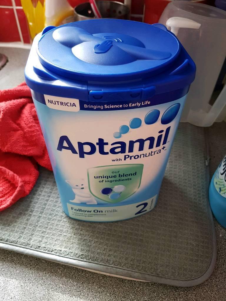 3 tubs of Aptamil stage 2 new