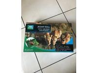 Lion puzzle and puzzle mat