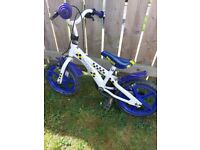 14 inch boys bike.