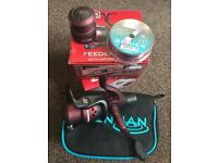 Drennan Red Range 6-40 'Feeder' Reel + FREE Drennan Reel Case & Series 7 Line