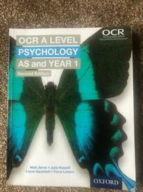 OCR A LEVEL PSYCHOLOGY AS & YEAR 1