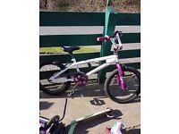 """Girls 18""""muddyfox mountain bike"""