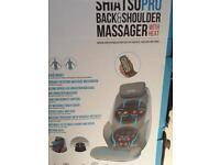 Homedics shiatsu pro back and shoulder massager with heat RRP £299