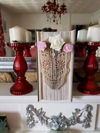 Candy skull bookfold